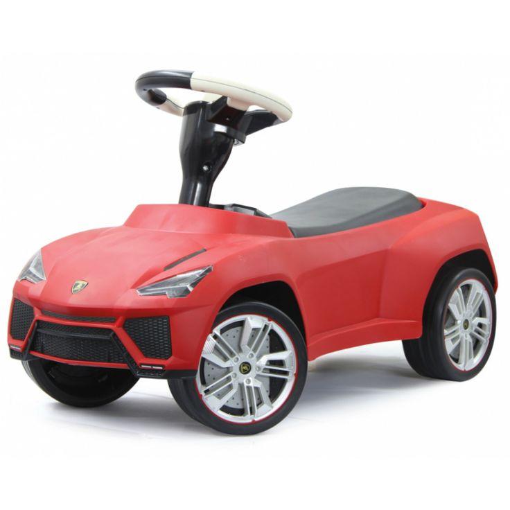 En populär sparkbil designad som en sportig Lamborghini Urus med noggranna detaljer. Förvaringsutrymme under sätet och tuta på ratten. Tillverkad av robust plast för att vara redo för spännande utflykter.  Gåbilar och sparkbilar är de små barnens favorit och en uppskattad födelsedagspresent, doppresent eller julklapp som barnen kommer att ha roligt med i många år.   Fakta Ålder 1,5 - 5 år. Storleksmått: 70 x 30,3 x 39,7 cm. Vikt: 2,7 kg. Licens: Lamborghini. Färg: Röd.  Detta är en…