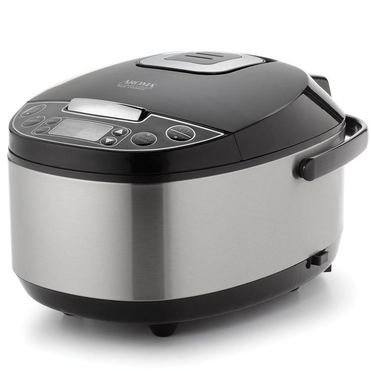 Aroma Sensor Logic Rice Cooker & Food Steamer