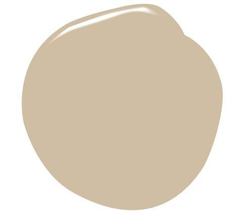 Benjamin Moore paint in shaker beige