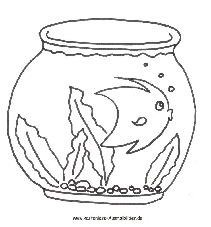 Ausmalbild Fisch zum kostenlosen Ausdrucken und Ausmalen ...