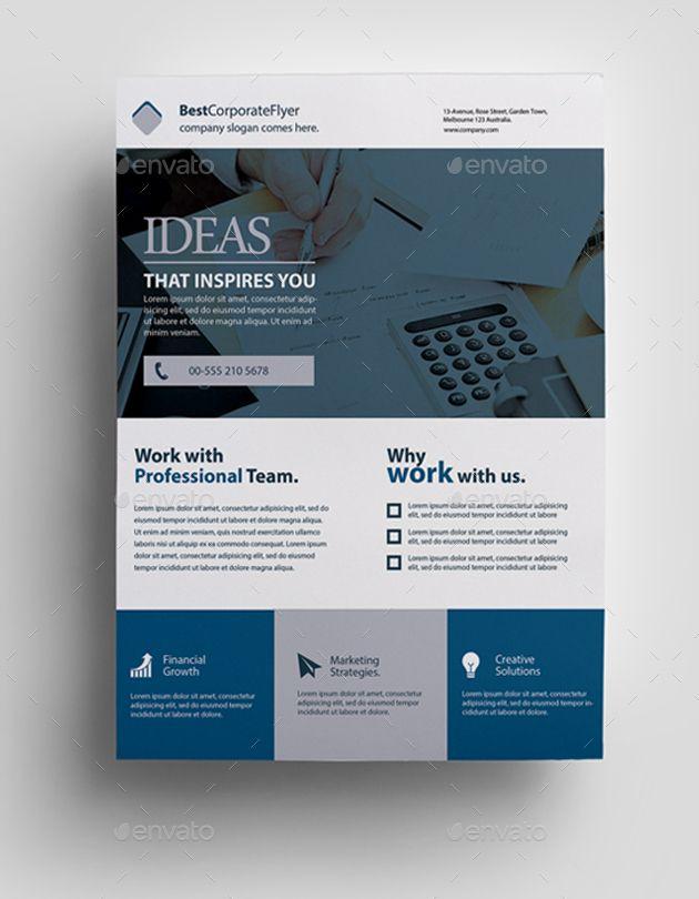 Corporate Flyer Corporate Flyer Corporate Flyer Business Card Design Inspiration Flyer Design Layout