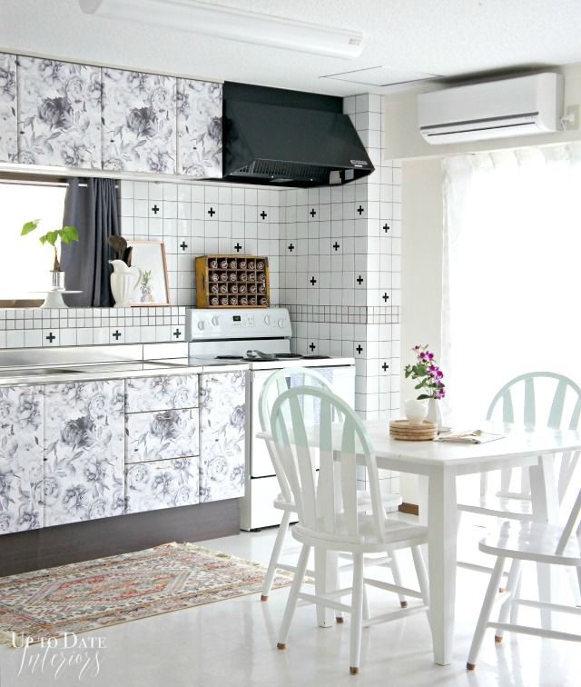 One Room Challenge: Rental Kitchen Reveal - Up to Date Interiors
