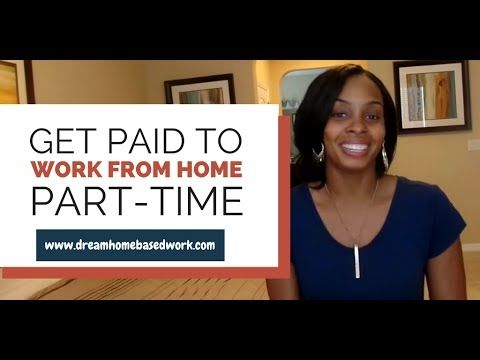 Get Paid To Work from Home Part-Time - 99+ Companies To Check Out @legitworkathome