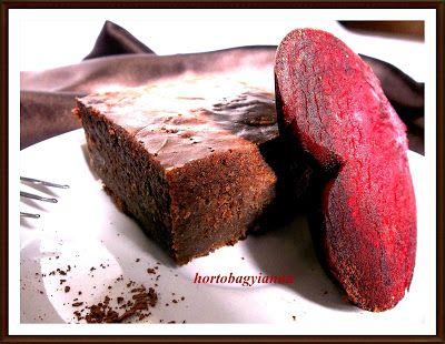 Kakukkfű: Céklás brownie (diabetikus)