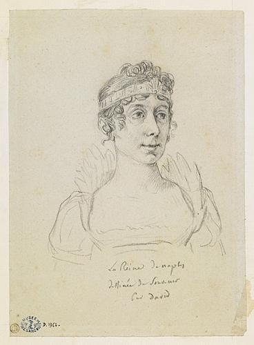 000 DAVID Jacques Louis Julie Bonaparte