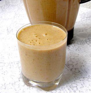W Mojej Kuchni Lubię.. : z czystkiem zdrowy mleczny koktajl...