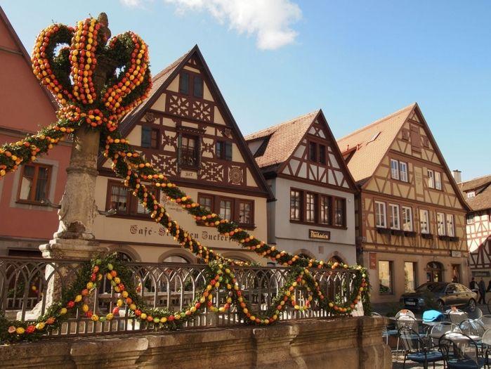 【ドイツ】ゴシック建築のメルヘンな街・ローテンブルクをぶらりお散歩