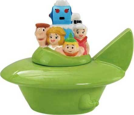 Hanna-Barbera The Jetsons Spaceship Cookie Jar #12552  | eBay