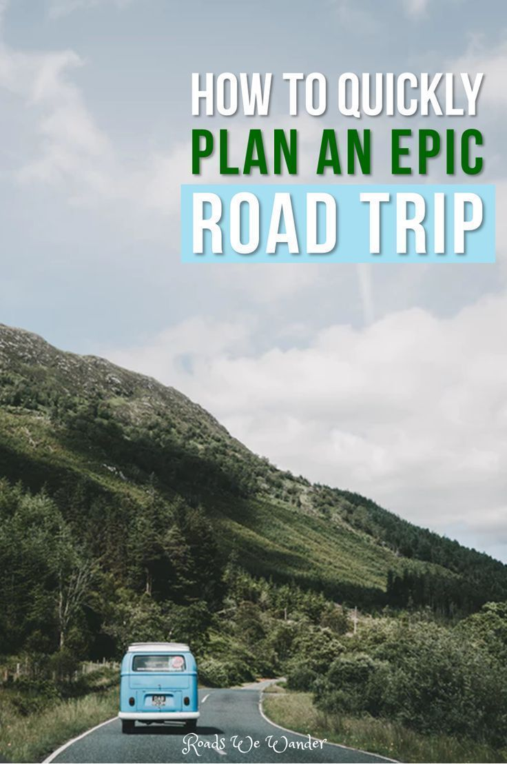 How To Quickly Plan The Best Road Trip With This Free Road Trip Planner Road Trip Fun Road Trip Planner Road Trip
