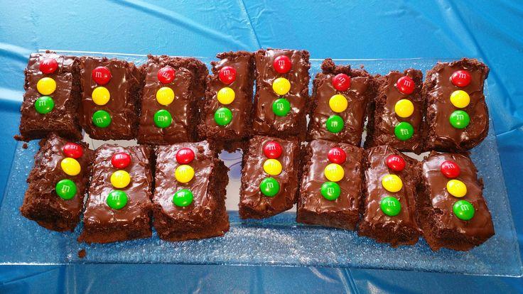 Stop light Brownies