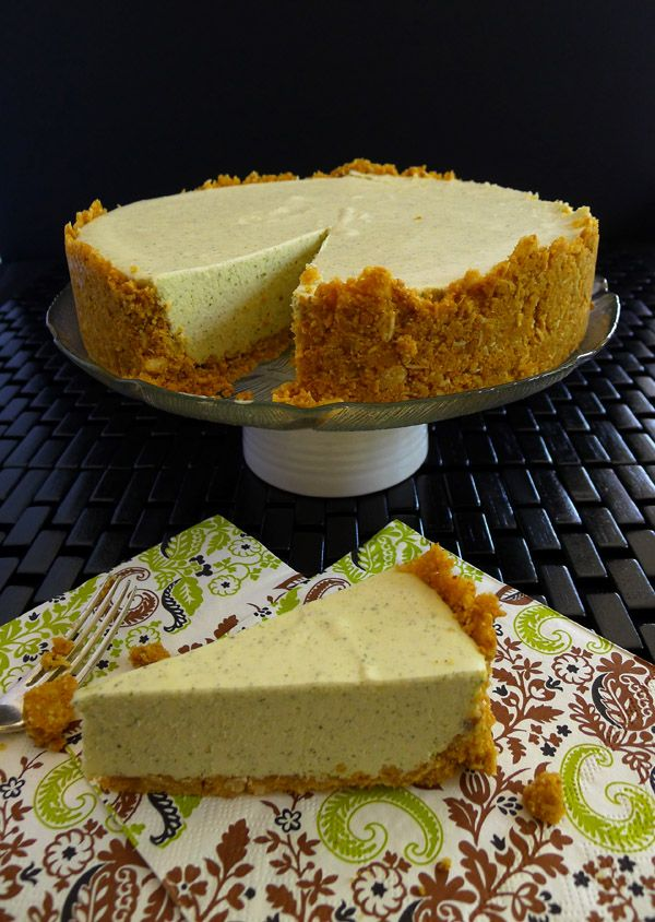 Lemon Myrtle Cheesecake | www.bellyrumbles.com