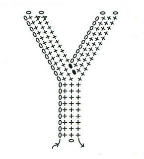 34 best crochet letters and numbers images on pinterest crochet free crochet letter y diagram thecheapjerseys Images