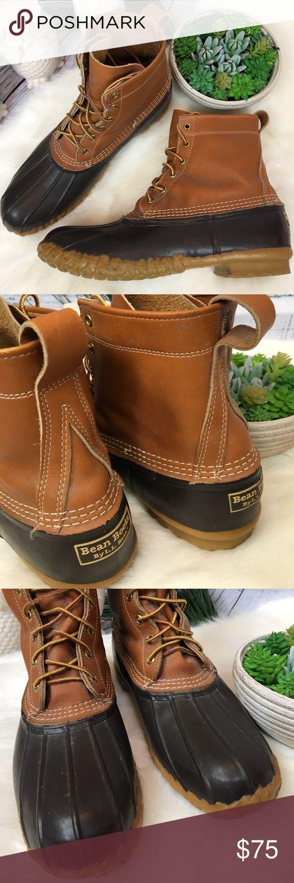L l bean order form - Ll Bean Brown Bean Duck Boots Men S Sz 11 Usa Awesome Boots L L Bean
