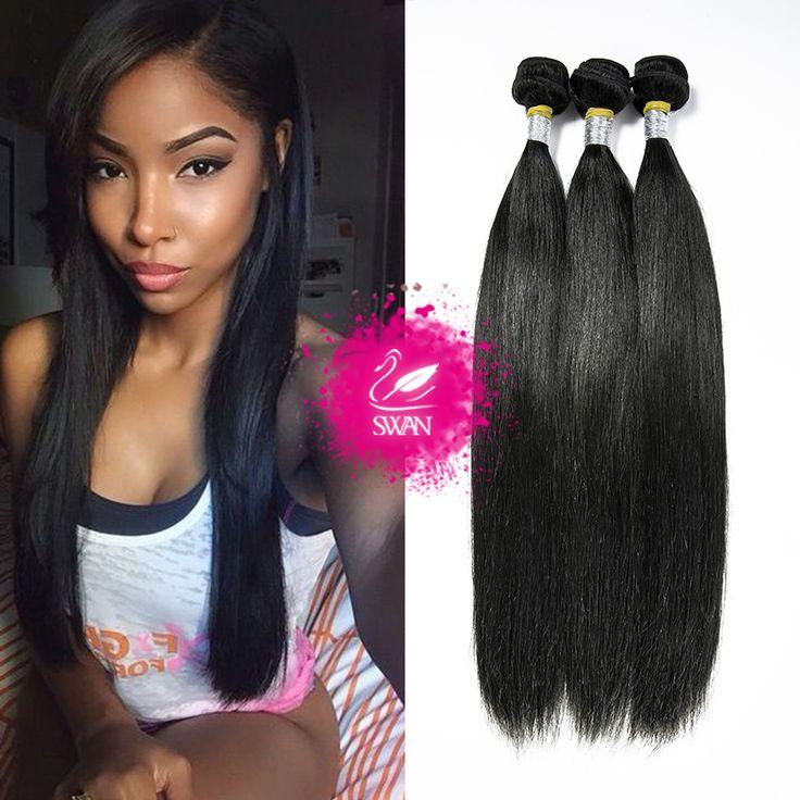 Mink Brazilian Virgin Hair Straight 9A Unprocessed Virgin Brazilian Straight Hair Extension 3 Bundle Deals Remy Human Hair Weave