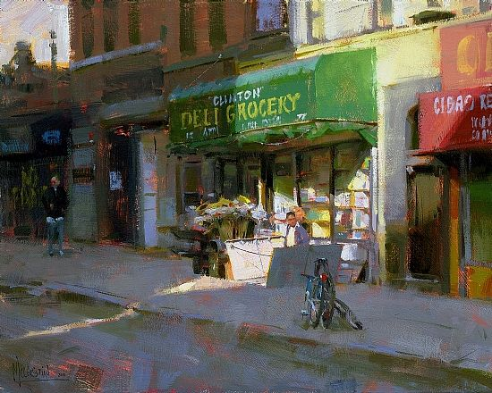 Jennifer McChristian one of my all time favorite painters. Beautiful work!