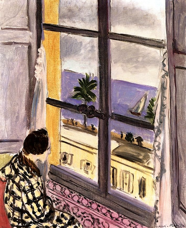 bofransson: Woman at the Window, Nice Henri Matisse - 1926