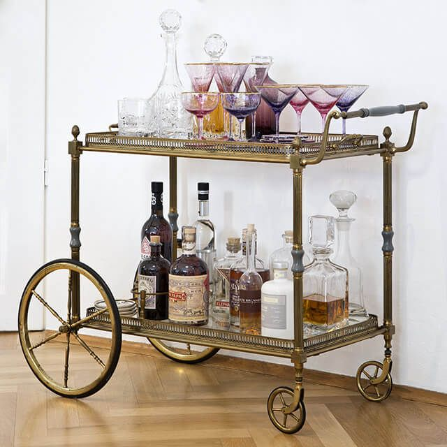My Bar Cart Is One Of The Key Pieces In Home Get Yours Today On Westwing