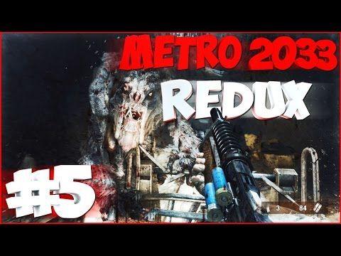 [Все секреты] Прохождение METRO 2033 REDUX | Выживание + Рейнджер-Хардко...