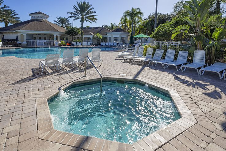 Ahhh. Relax in the Clubhouse pool at Windsor Palms Resort, Kissimmee, Florida