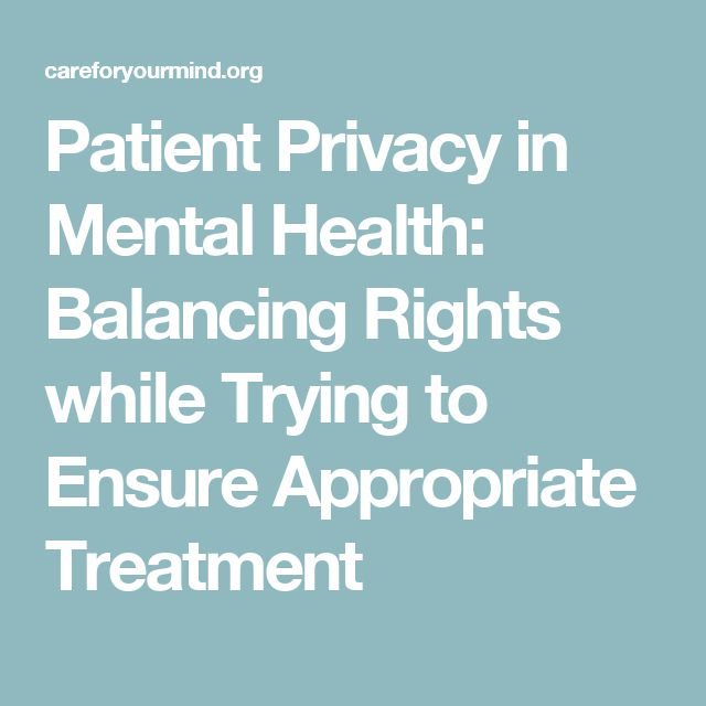 hipaa mental health essay Importance of hipaa: keeping health privacy and obtainability of electronic health data, hipaa recommends several present, or future mental or.