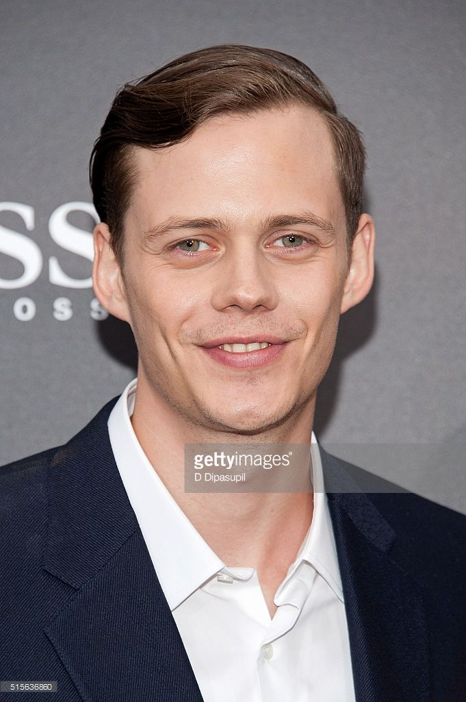 Bill Skarsgard attends the 'Allegiant' New York premiere at AMC Lincoln Square Theater on March 14, 2016 in New York City.