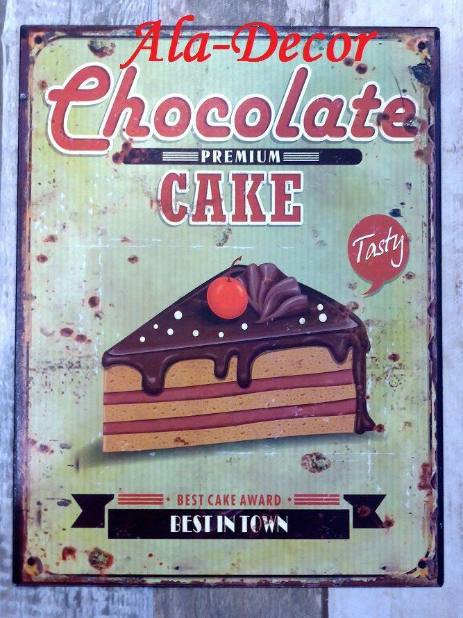 Retro cedule-CHOCOLATE