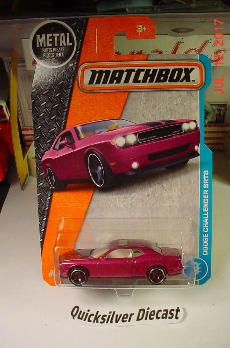 Matchbox Dodge Challenger SRT8 Purple 2016 21 BP