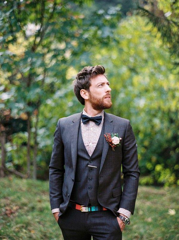vintage inspired groom | Image by Christophe Serrano