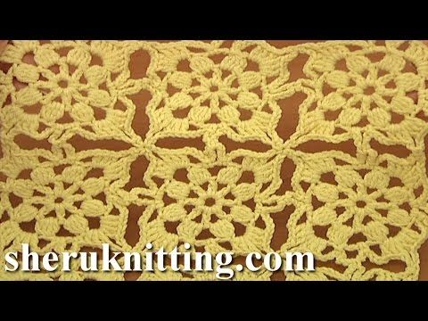 Joining Square Motifs for Beginners Tutorial 8 Part 2 of 2 - YouTube