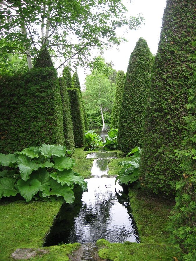 Les Quatre Vents (The Four Winds): a private garden in Quebec open just a few days a year.