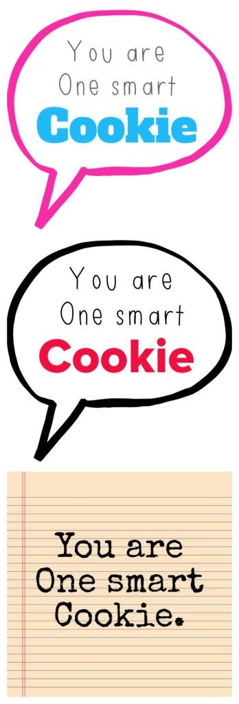 One Smart Cookie – Free Printable