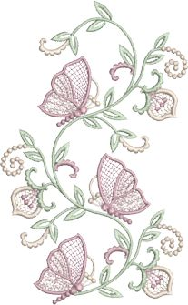 Sue Box Creations   Download Embroidery Designs   Boutique Butterflies