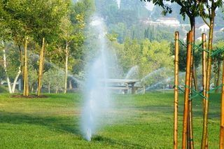 How to Make Above Ground Sprinkler System With PVC | eHow