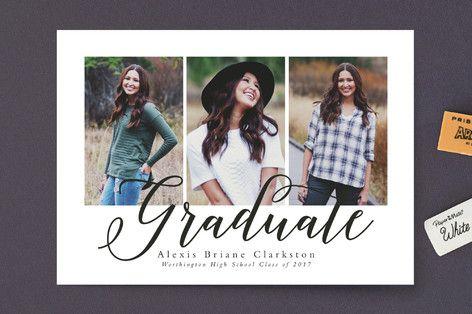 Tri-ed and true Graduation Announcements by Lea Delaveris at minted.com