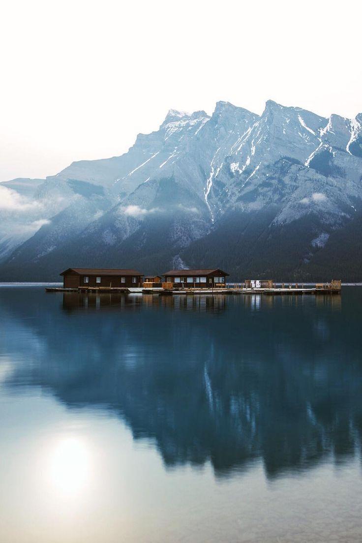 "banshy: ""Lake Minnewanka // Tanner Wendell Stewart """