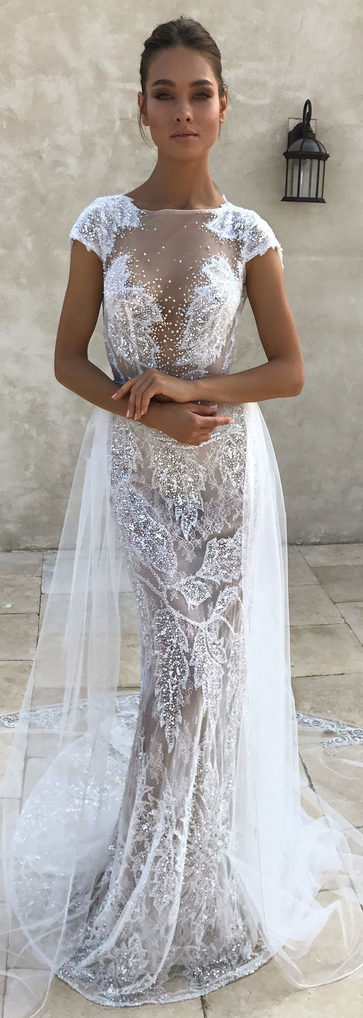 New BERTA bridal couture behind the scenes