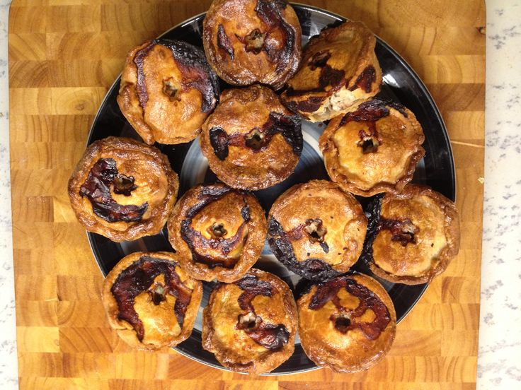 Pork Pies (my first) and generally an easy recipe to follow from Paul Hollywood