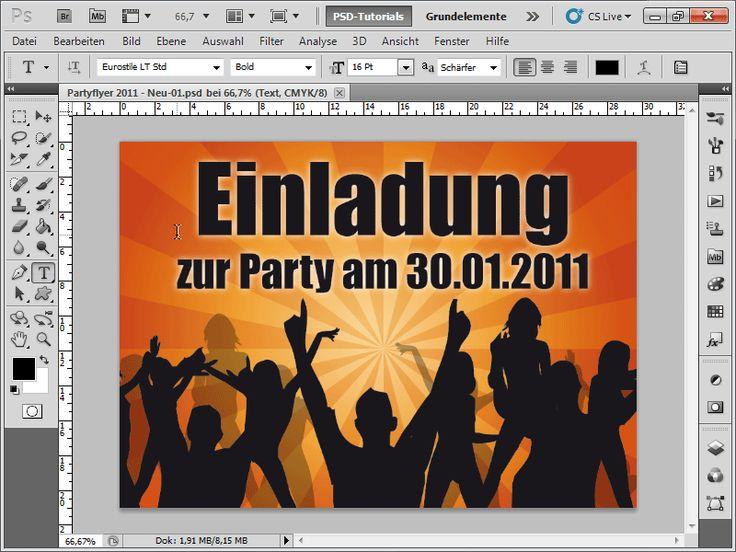 In diesem Tutorial wird Ihnen gezeigt, wie mit Adobe Illustrator in kurzer Zeit eine Einladungskarte erstellt werden kann. Außerdem werden Tipps zum Umgang Export in JPEG und Photoshop vermittelt. …