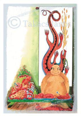 #illustration #japan #sumo by Janos Takacs
