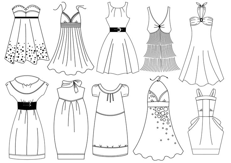coloriage robe styliste recherche google styliste. Black Bedroom Furniture Sets. Home Design Ideas