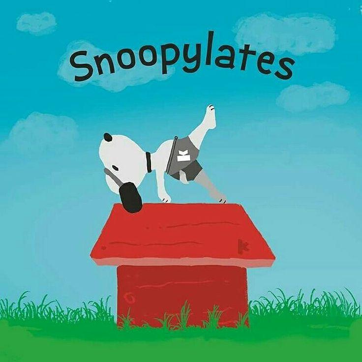 Snoopy pilatero :-)  #pilates #lovepilates