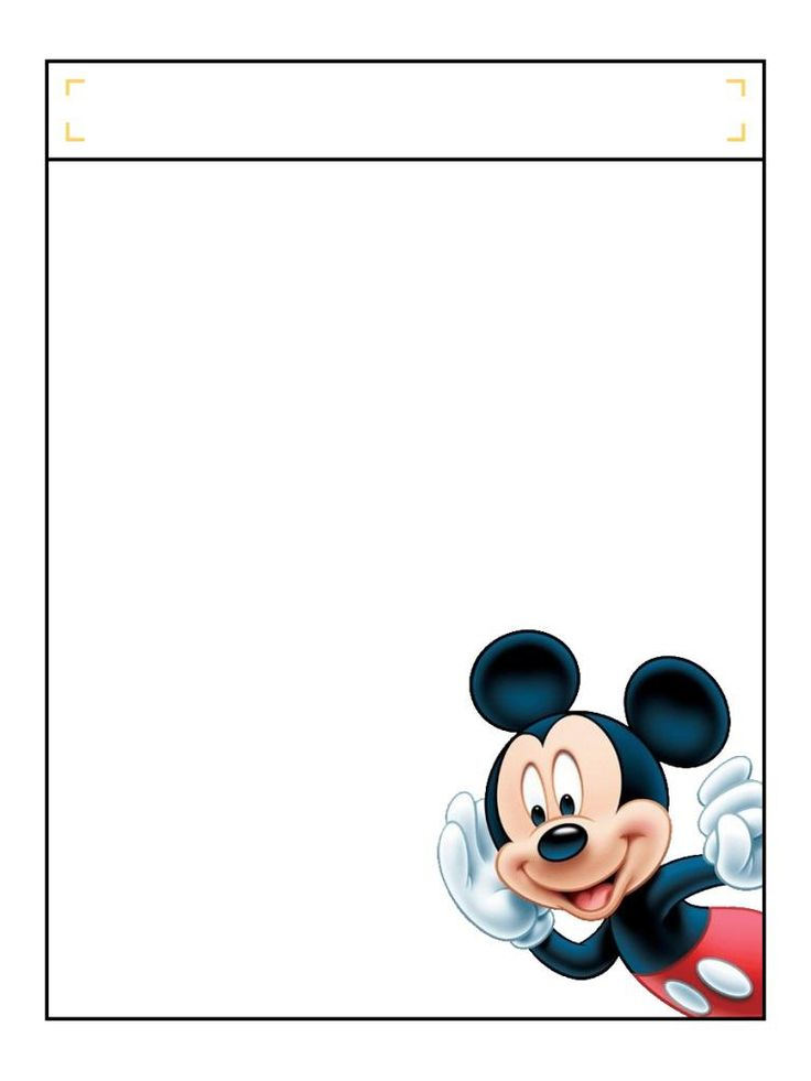 """Mickey listening with title box - Project Life Disney Journal Card - Scrapbooking. ~~~~~~~~~ Size: 3x4"""" @ 300 dpi. This card is **Personal use only - NOT for sale/resale** Logos/clipart belong to Disney. ***Click through to photobucket to see this this card with lots of different characters***"""