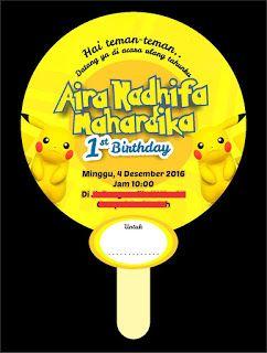 23 best stiker label ulang tahun anak images on pinterest label ataro designs undangan label ulang tahun tema pokemon stopboris Gallery