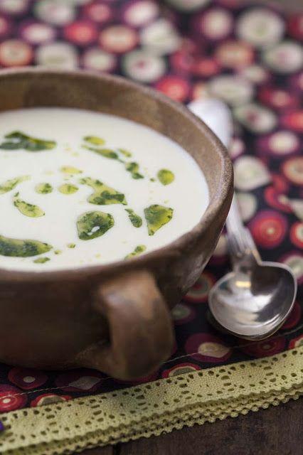THERMOMIX: Creme de pupunha e queijo brie