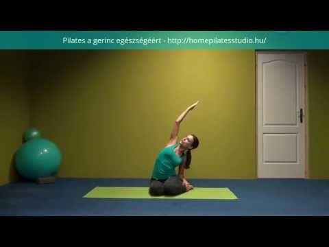 Pilates gerinctorna#1 - YouTube