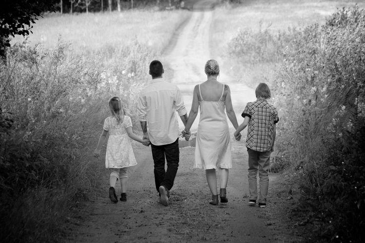 Bröllop, familj/ Wedding Family Image