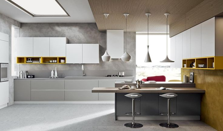 Cucina arredo3 isola modello LUNA da Bertocchi Arredamenti a Bologna