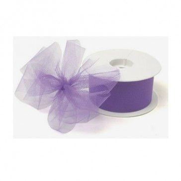 Tule lavendel is geschikt voor het maken van mooie strikken.