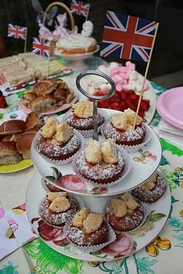 downton abbey tea party | Downton Abbey Party / British tea party, I want for my birthday party!
