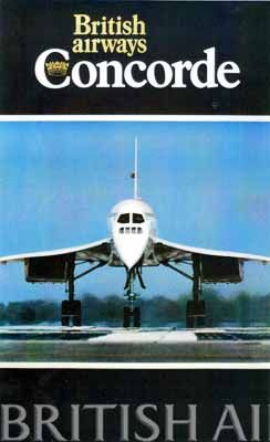 British Airways Concorde poster.